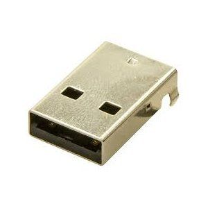 USB A Type Male PCB Terminals