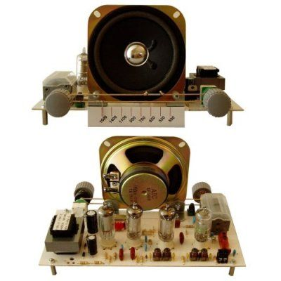 Four Tube Super Heterodyne Radio Receiver Kit